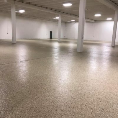 Liquid Floors USA 1 Day Garage Floor Trailer