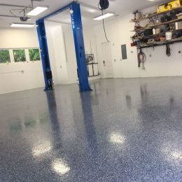 Flake Floor Garage 2