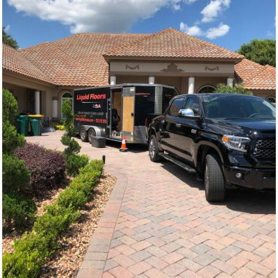 Liquid Floors USA 1 Day Garage Floor Truck