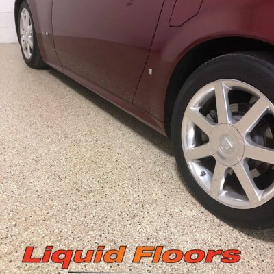 Liquid Floors USA Cadillac On Driveway