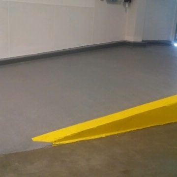 Liquid Floors USA Commercial Quartz Floor Wheelchair Access