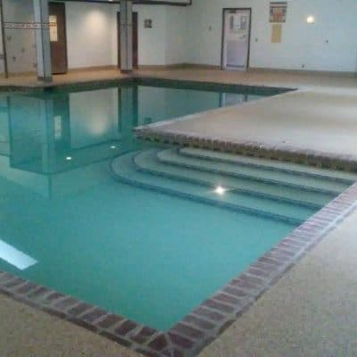Liquid Floors USA Flake Pool Floor