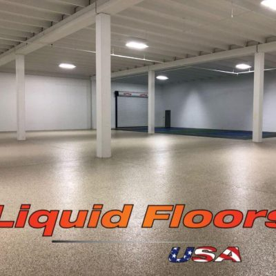 Liquid Floors USA Full Commercial Garage