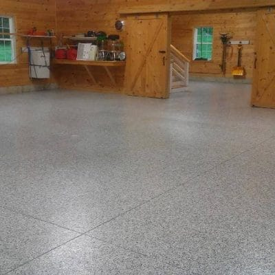 Liquid Floors USA Large Area Flake Floor
