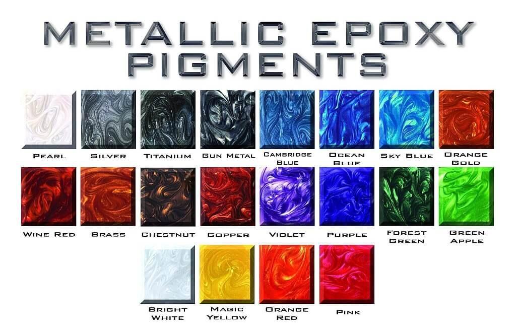 Liquid Floors USA Metallic Floor Colors 50