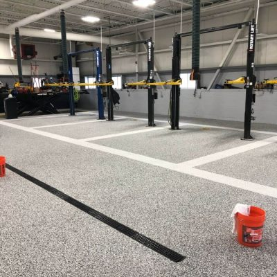 Liquid Floors USA Multiple Commercial Bays