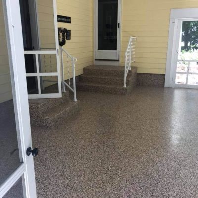 Liquid Floors USA Outdoor Porch